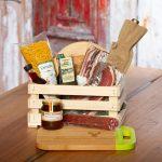 Kärntner Holzkiste inklusive Gravur und leckeren Spezialitäten