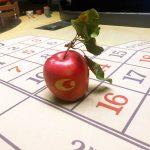 Persönlich gravierter Apfel im Casino