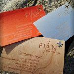 Einzigartige Visitenkarten bedruckt von FIAN Veredelung