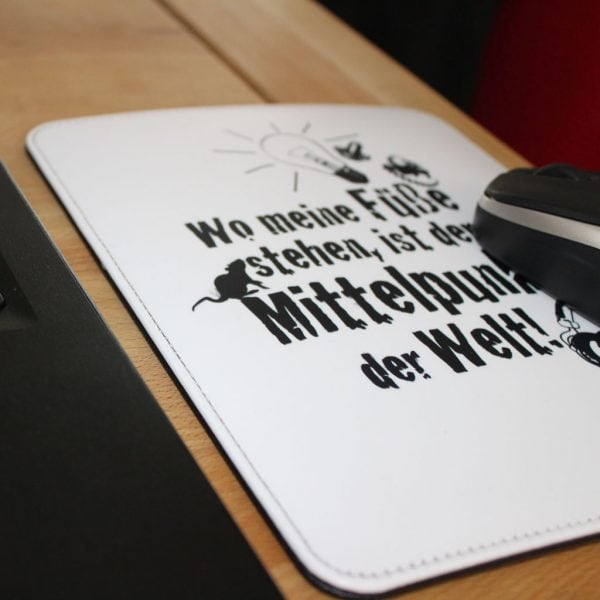 Mousepad hochwertig bedruckt mit Sublimationsdruckk