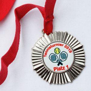 Medaille Silber von FIAN Stickcenter