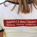 T-Shirt mit scharfem Digitaldruck veredelt